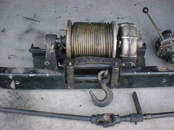 Механическая лебедка на уаз