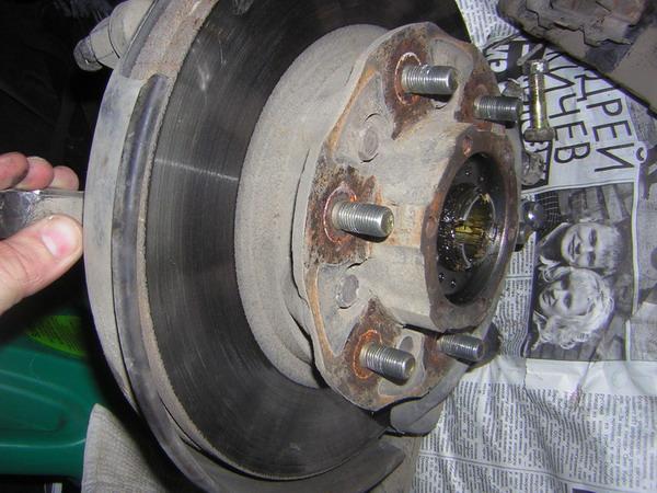 Замена шаровых, рулевой рейки с наконечниками и пыльников. - диск.jpg