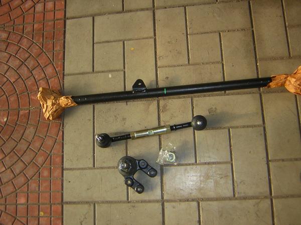 Замена шаровых, рулевой рейки с наконечниками и пыльников. - рулевая рейка, наконечники, шаровая.jpg