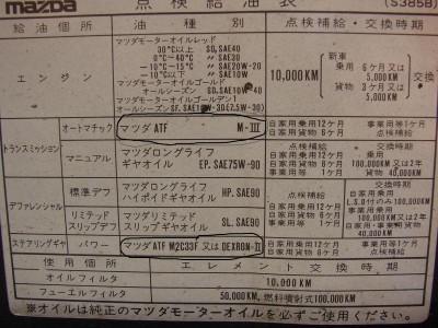 Что куда лить. - Таблица замена масел по япнски.JPG