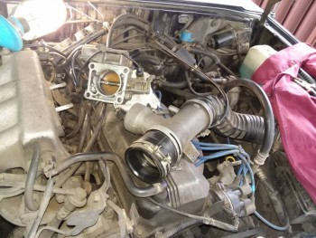 Колбасит Марвика зажигалку - замена двигателя G5 на от МПВ задний привод. - 3.jpg